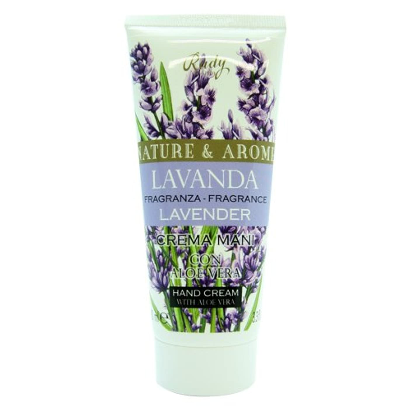 ベンチャー父方のオフRUDY Nature&Arome SERIES ルディ ナチュール&アロマ Hand Cream ハンドクリーム  Lavender ラベンダー