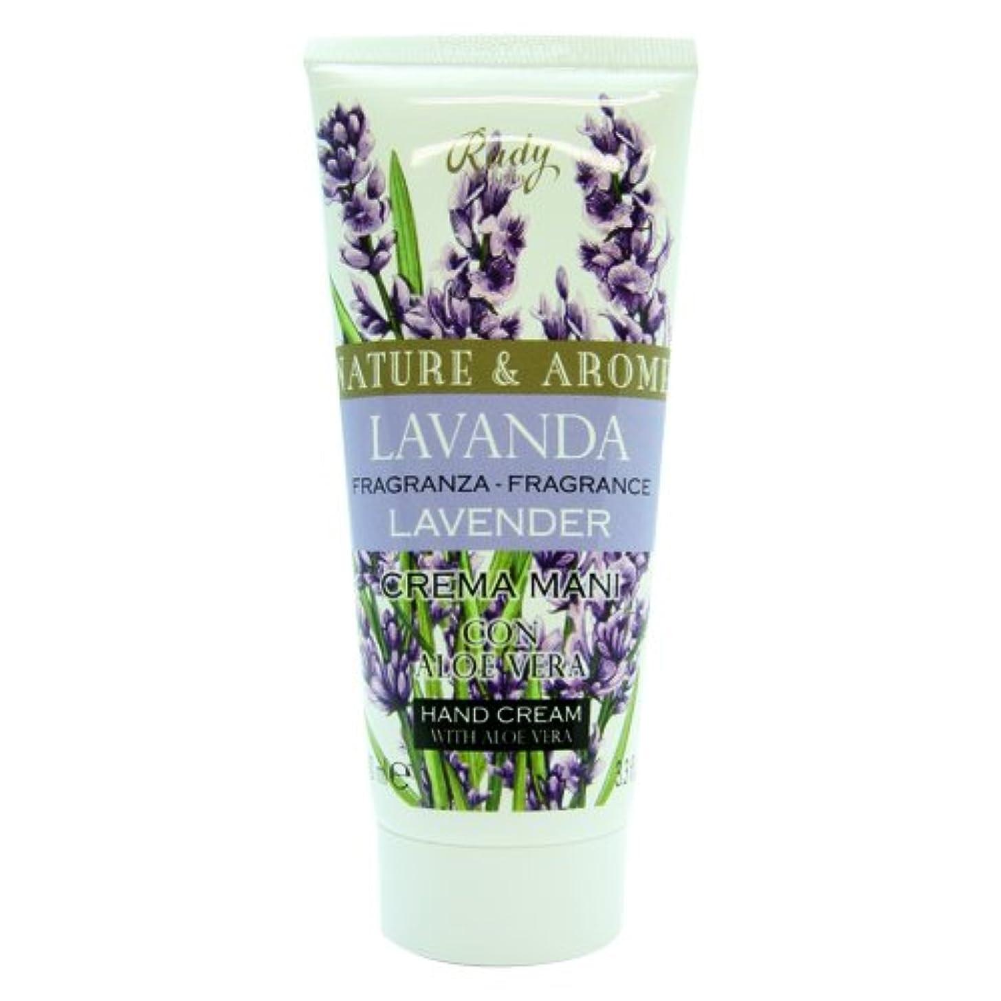 くちばしマニュアル大きなスケールで見るとRUDY Nature&Arome SERIES ルディ ナチュール&アロマ Hand Cream ハンドクリーム  Lavender ラベンダー