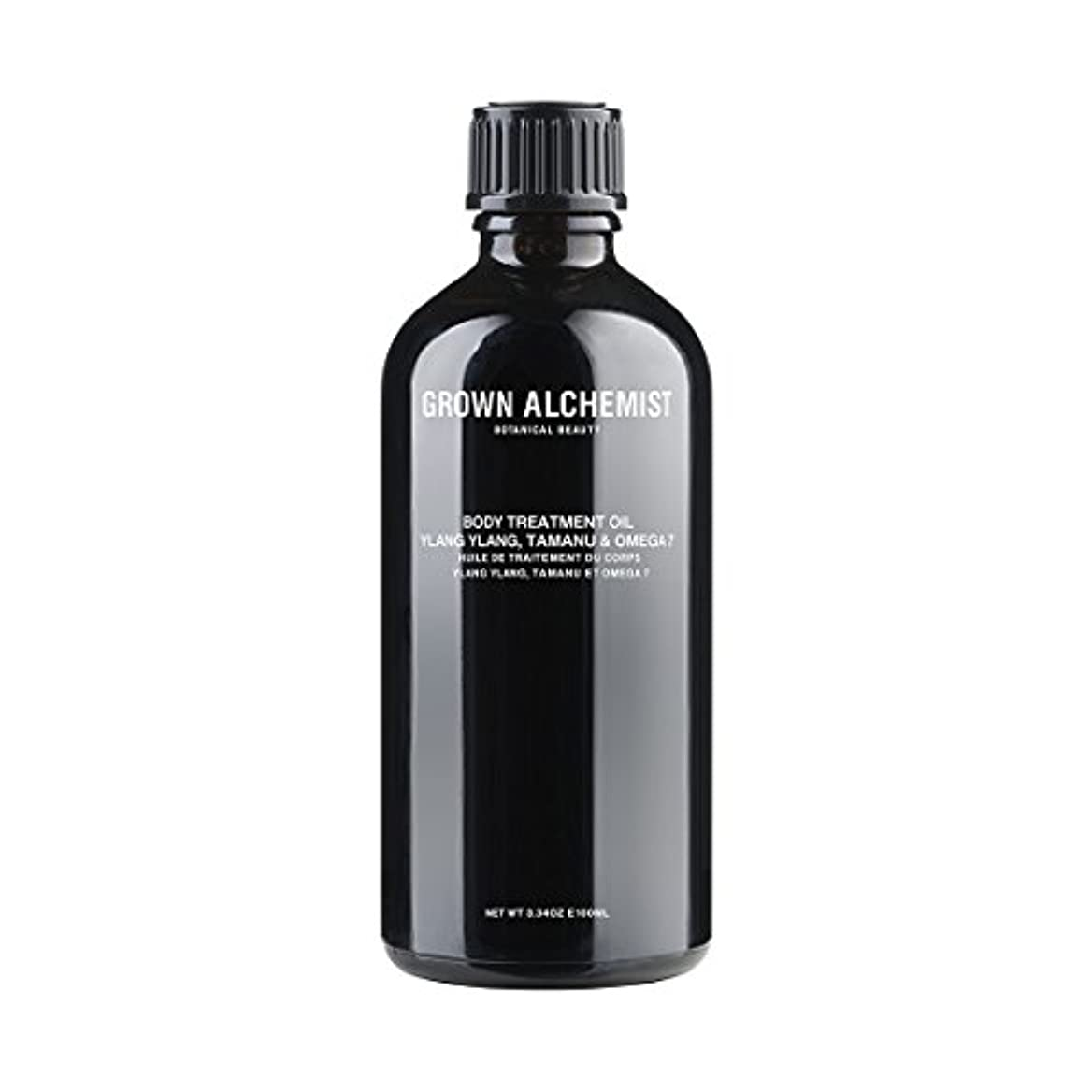 起きているむしろ不規則なGrown Alchemist Body Treatment Oil - Ylang Ylang, Tamanu & Omega 7 100ml/3.34oz並行輸入品