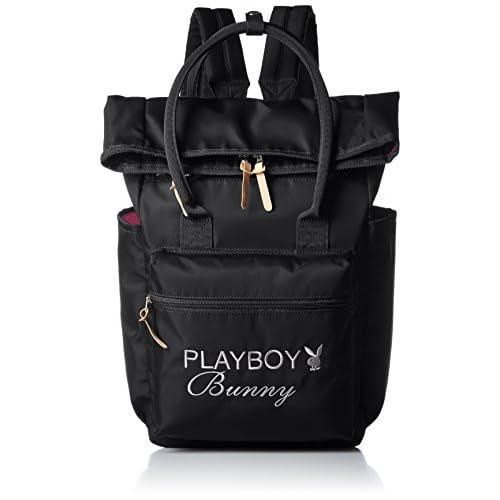 [プレイボーイ] PLAYBOY クチオレリュック PB500 BLACK (ブラック)