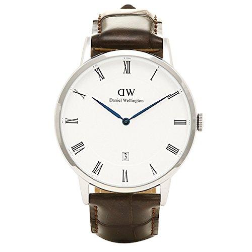 (ダニエルウェリントン) Daniel Wellington 腕時計 メンズ/レディース 1122DW DAPPER ダッパー 38MM YORK S シルバー[並行輸入品]