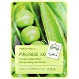 (6 Pack) TONYMOLY Pureness 100 Placenta Mask Sheet Strengthening Skin Barrier (並行輸入品)