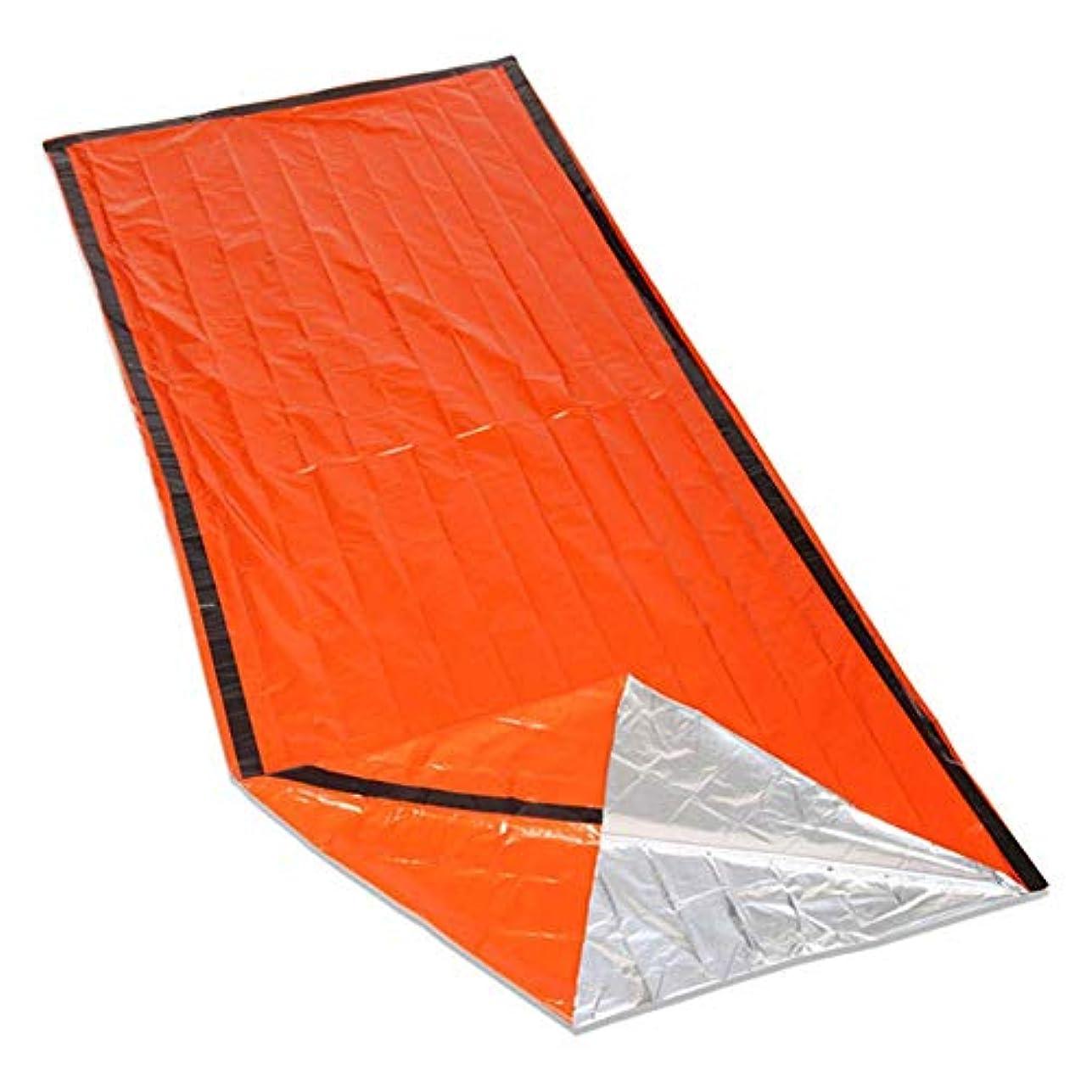 彼らのロッカー空白屋外寝袋ポータブル緊急寝袋ライト寝袋キャンプ旅行ハイキング屋外旅行