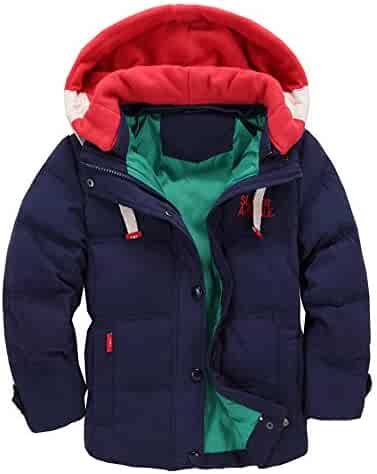 0642a828edb1d 子ども ダウンジャケット ダウンコート 男の子 女の子 防寒 フード付き アウター 男女兼用 軽量 可愛い カジュアル