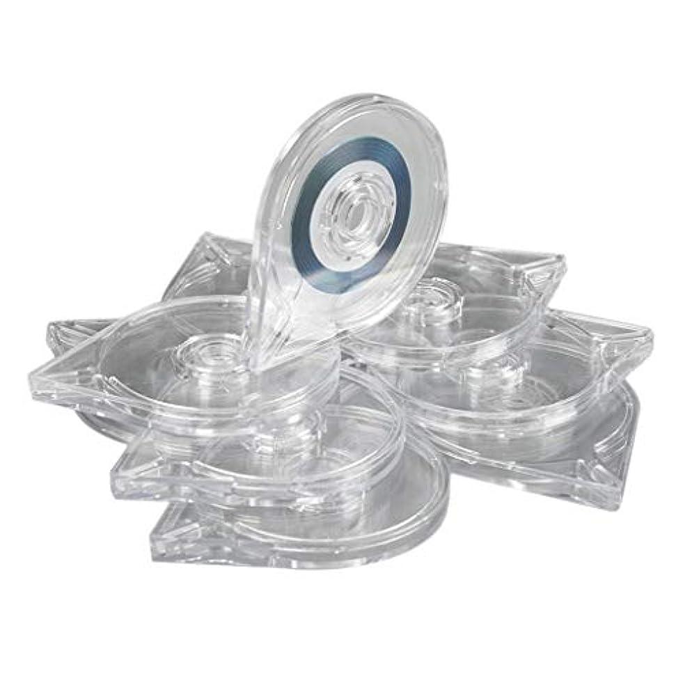 センチメンタルたまに最後にB Blesiya 10本 ネイルアートツール ストライピングテープラインケース ボックス プラスチック マニキュア