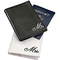 "Lillian Rose 4""x5.5"" Mr & Mrs Passport Covers"