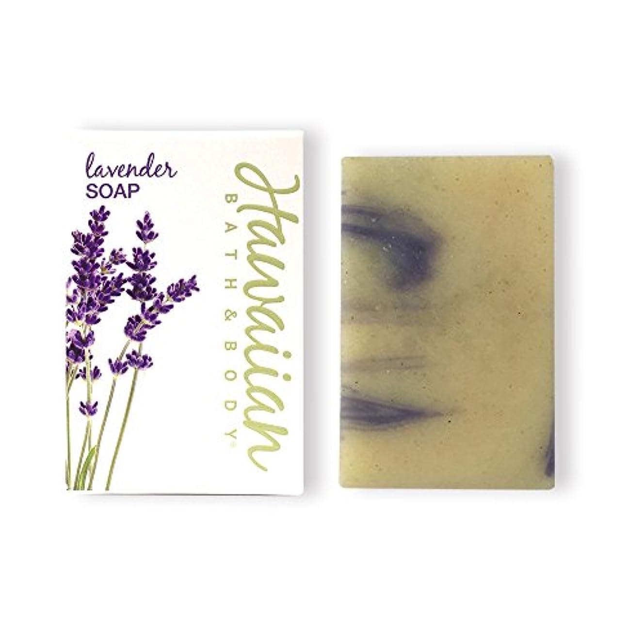 補う葉を拾う尽きるハワイアンバス&ボディ ラベンダー?ナチュラルソープ ( Lavender Soap )