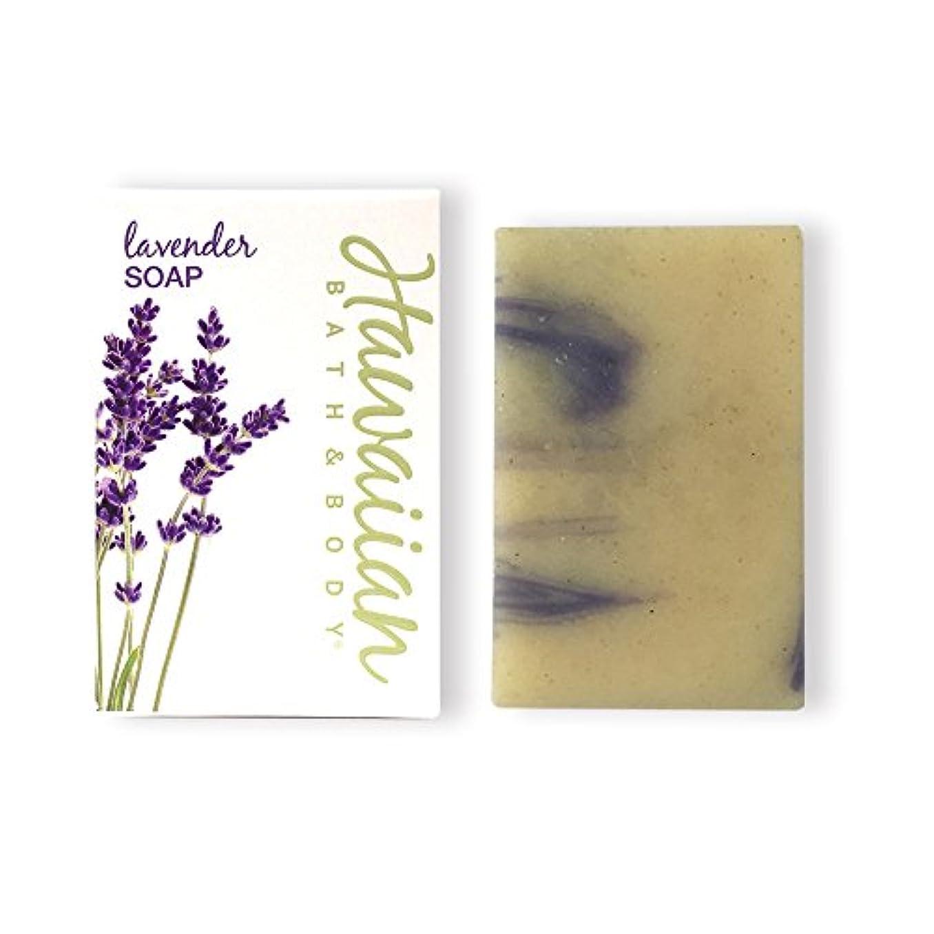 すべて小川手順ハワイアンバス&ボディ ラベンダー?ナチュラルソープ ( Lavender Soap )