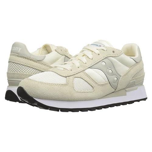 (サッカニー) SAUCONY レディースランニングシューズ・スニーカー・靴 Shadow Original Off-White Men's 6.5, Women's 7.5 24.5cm (レディース 24cm) Medium [並行輸入品]