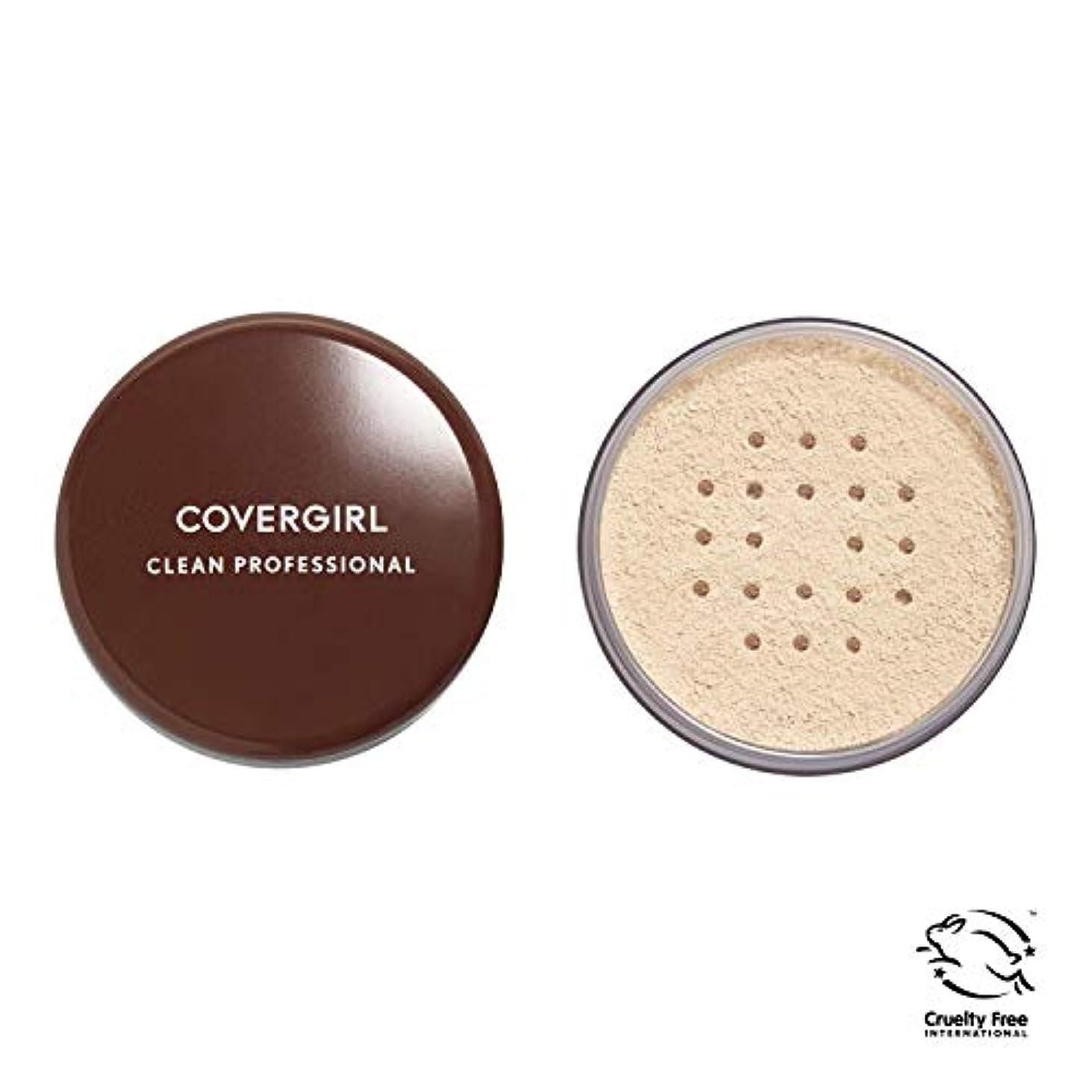 心理学仮定思われるCOVERGIRL Professional Loose Powder - Translucent Fair 105 (並行輸入品)