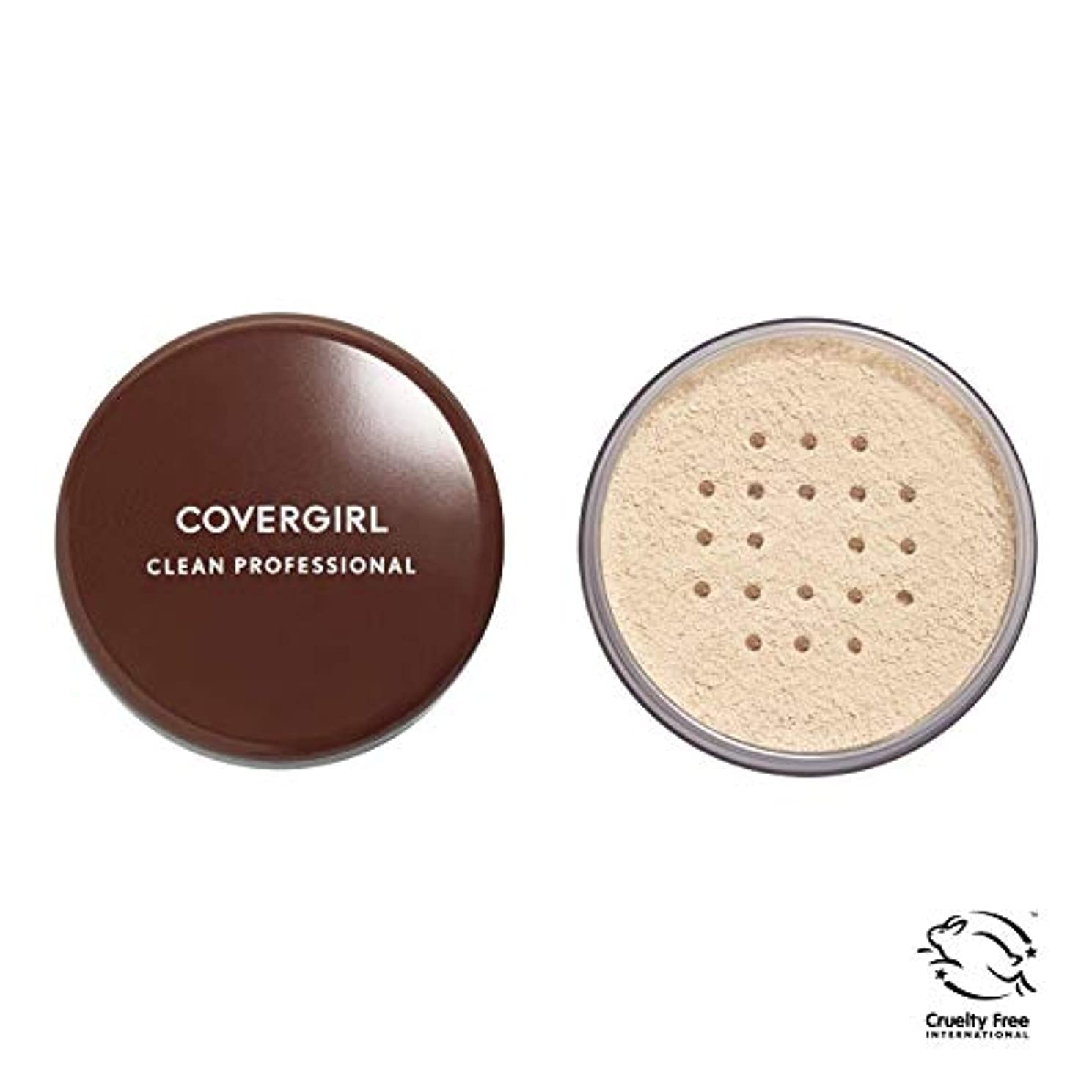 分注する配管シャイニングCOVERGIRL Professional Loose Powder - Translucent Fair 105 (並行輸入品)