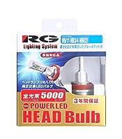 レーシング ギア (RACING GEAR) 純正交換式 LED H9 / 11・HB3 / 4 兼用モデル ヘッドバルブ POWER LED 12V/24V兼用 5500K(より純正に近い色味) RGH-P772