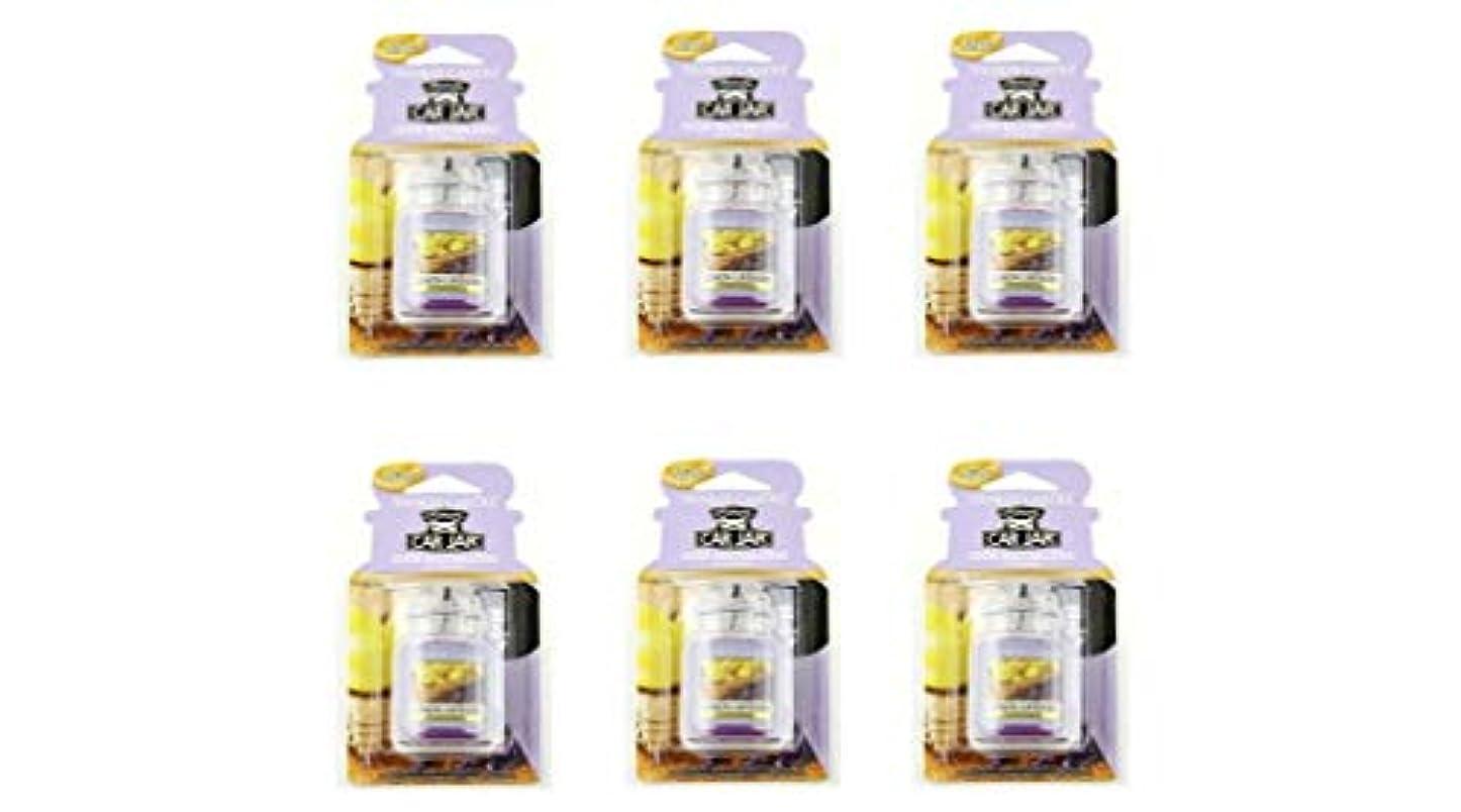 闘争治療バスタブヤンキーキャンドル YCネオカージャー K3230530 レモンラベンダー 6個入り