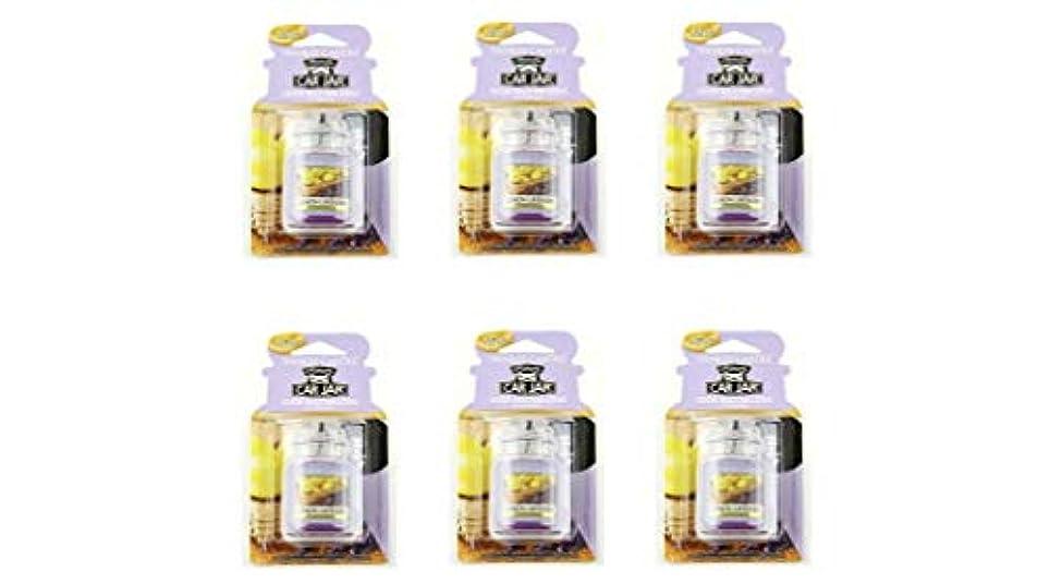 ユーモラス召喚する準備ヤンキーキャンドル YCネオカージャー K3230530 レモンラベンダー 6個入り