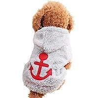 MIOIM 犬の服 可愛い パーカー コスチューム クリスマス セーター 犬服 コスプレ 仮装 ペット服 秋 冬 暖かい 防寒 小型犬