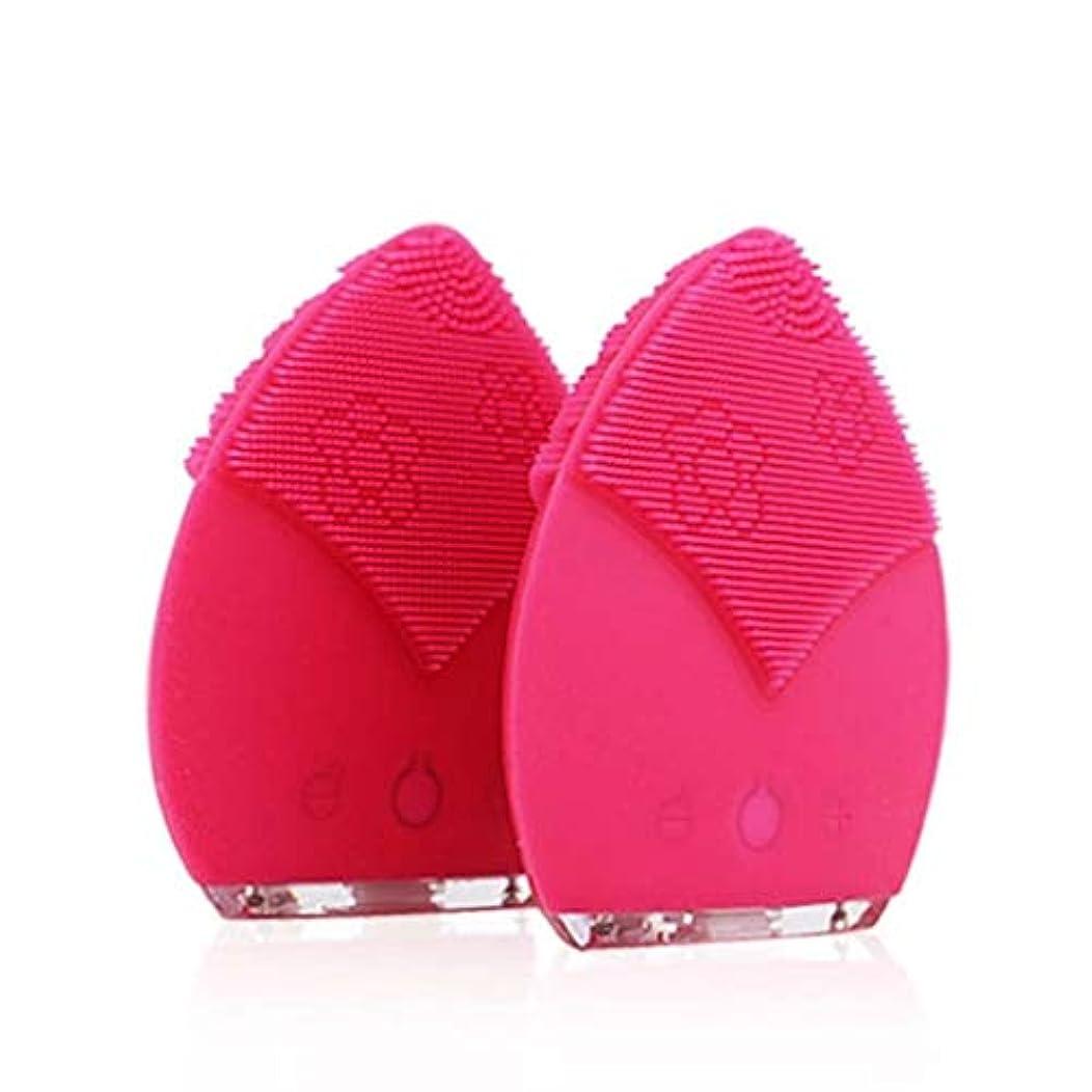 丈夫有名人虚弱クレンジングブラシ、IPX5は電気クレンジングブラシ、深い皮の清潔になるための顔のマッサージャーを防水します