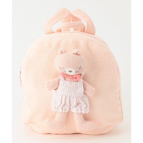 組曲 キッズ(KUMIKYOKU KIDS) 【BABY雑貨】ミミショートオールBABYリュック【ピンク系/BM】