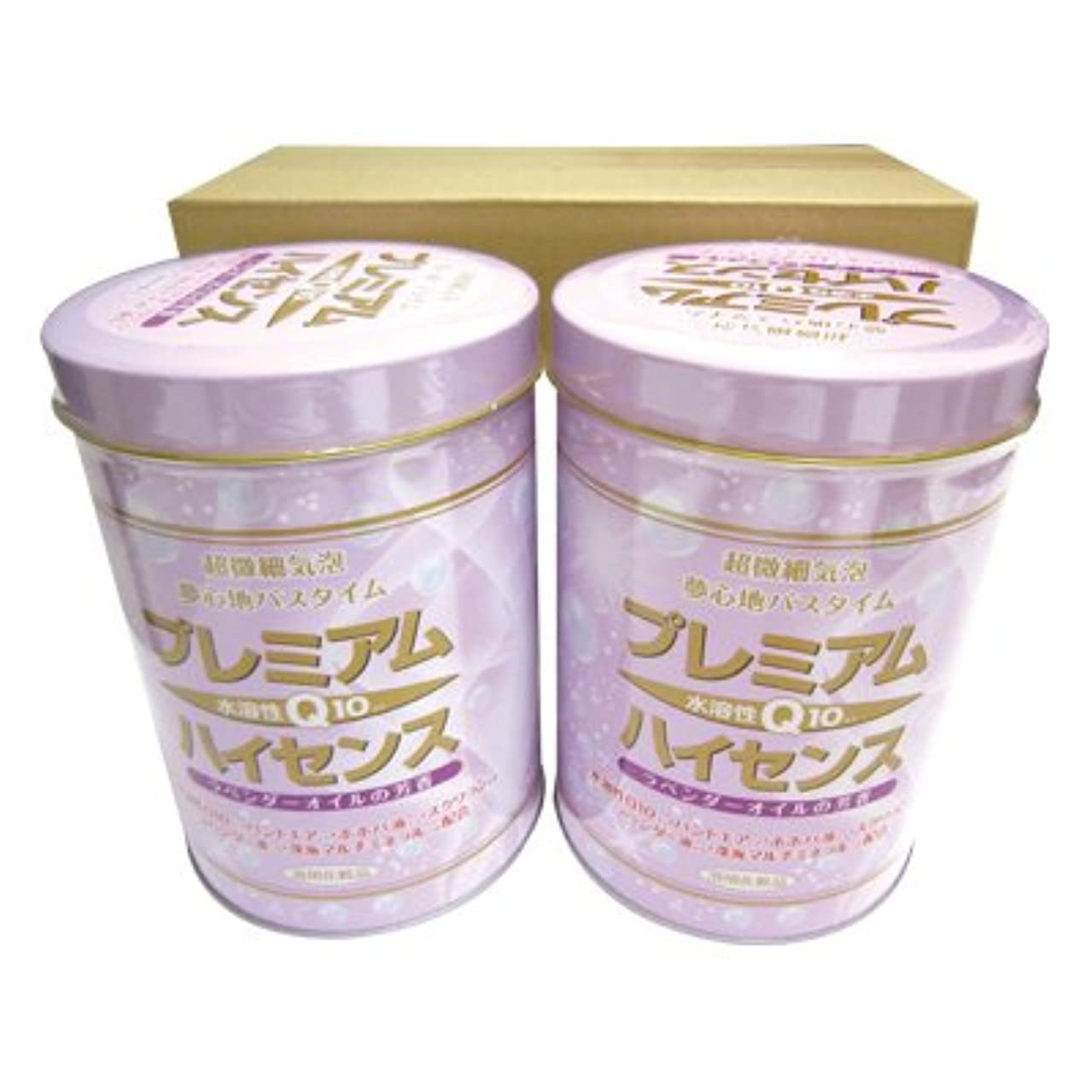 抽選濃度管理【高陽社】浴用化粧品 プレミアムハイセンス 2缶セット