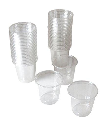 ストリックスデザイン 試飲用 プラスチックカップ 透明 60ml DR-515 50個入
