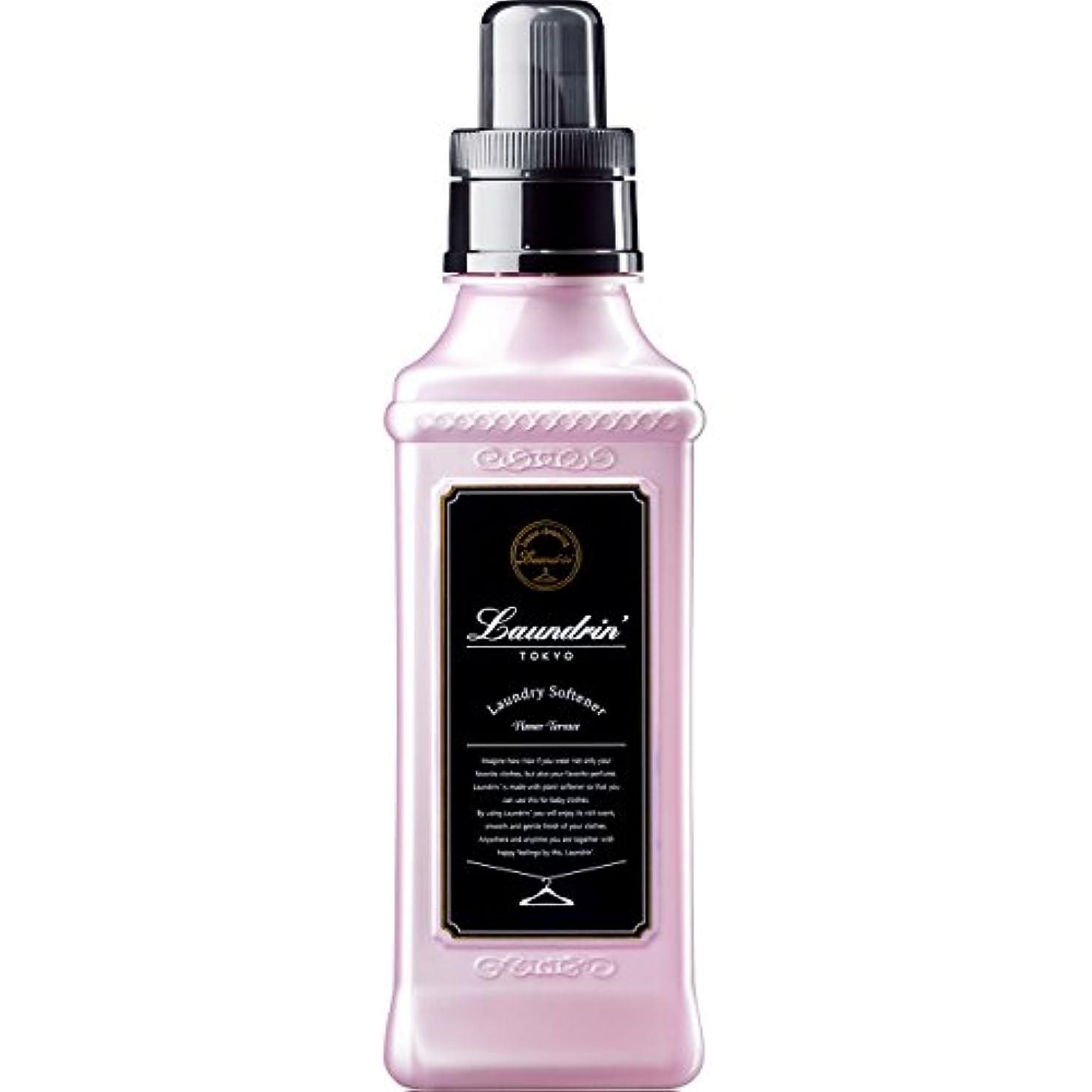 リベラル予測子油ランドリン 柔軟剤 フラワーテラスの香り 600ml