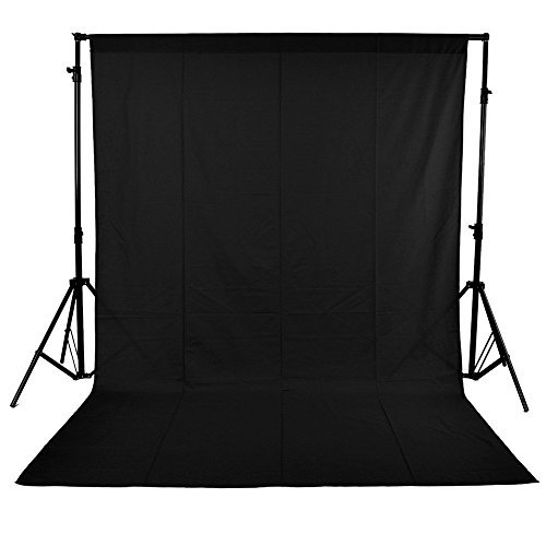 BPS(ビピエス)写真撮影 用 背景布 黒 1.8x2.8m...