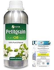 Petitgrain (Citrus aurantium) 100% Natural Pure Essential Oil 1000ml/33.8fl.oz.