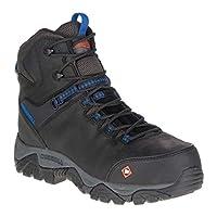 (メレル) Merrell Work メンズ シューズ・靴 ブーツ Phaserbound Mid Waterproof Composite Boot [並行輸入品]