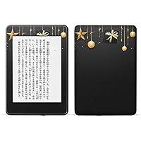 igsticker kindle paperwhite 第4世代 専用スキンシール キンドル ペーパーホワイト タブレット 電子書籍 裏表2枚セット カバー 保護 フィルム ステッカー 015632 星 夜空 キラキラ