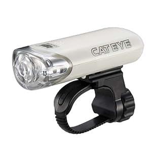キャットアイ(CAT EYE) ヘッドライト [HL-EL140] ホワイト JIS前照灯規格適合品