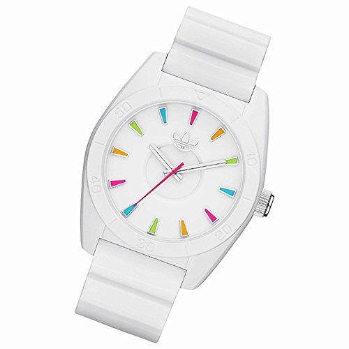 アディダス タイミング(ウオッチ)(adidas timing) ユニセックス時計(SANTIAGOA 【型番:ADH2915】)【マットホワイト/ マルチカラー/1サイズ】
