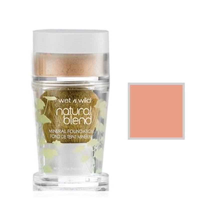 満足できる直面するモード(6 Pack) WET N WILD Natural Wear Blend Mineral Foundation - Light (DC) (並行輸入品)