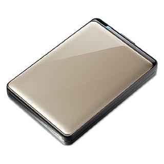 BUFFALO ターボPC EX2 USB3.0 ポータブルHDD 1TB トパーズ HD-PNT1.0U3-GC