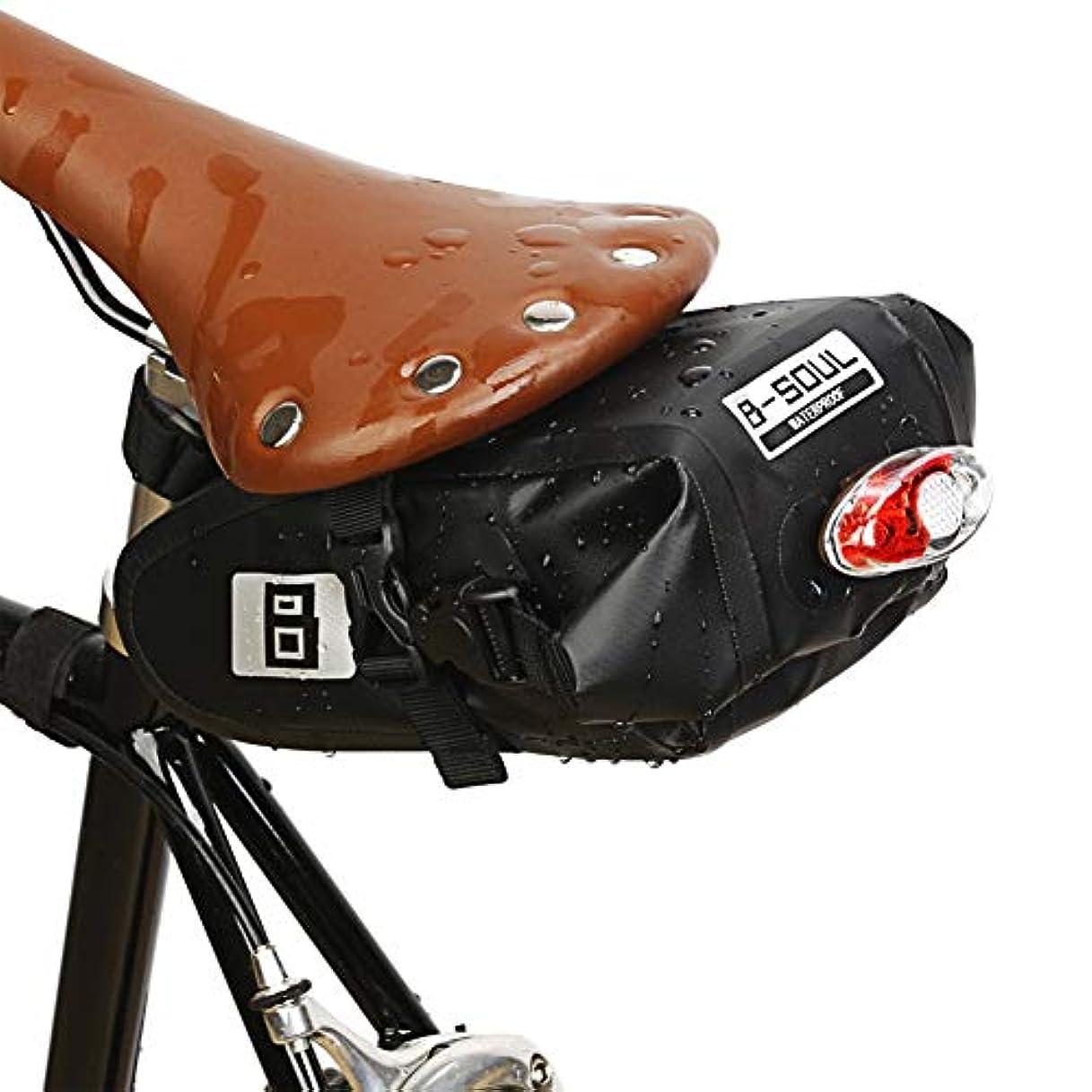 アウトドアペネロペゲートOchine 防水自転車サドルバッグ サイクリングシートバッグ MTBロード自転車 電話ホルダー修理ツールバッグ サイクリングテールリアポーチ 23*10*8 .5cm