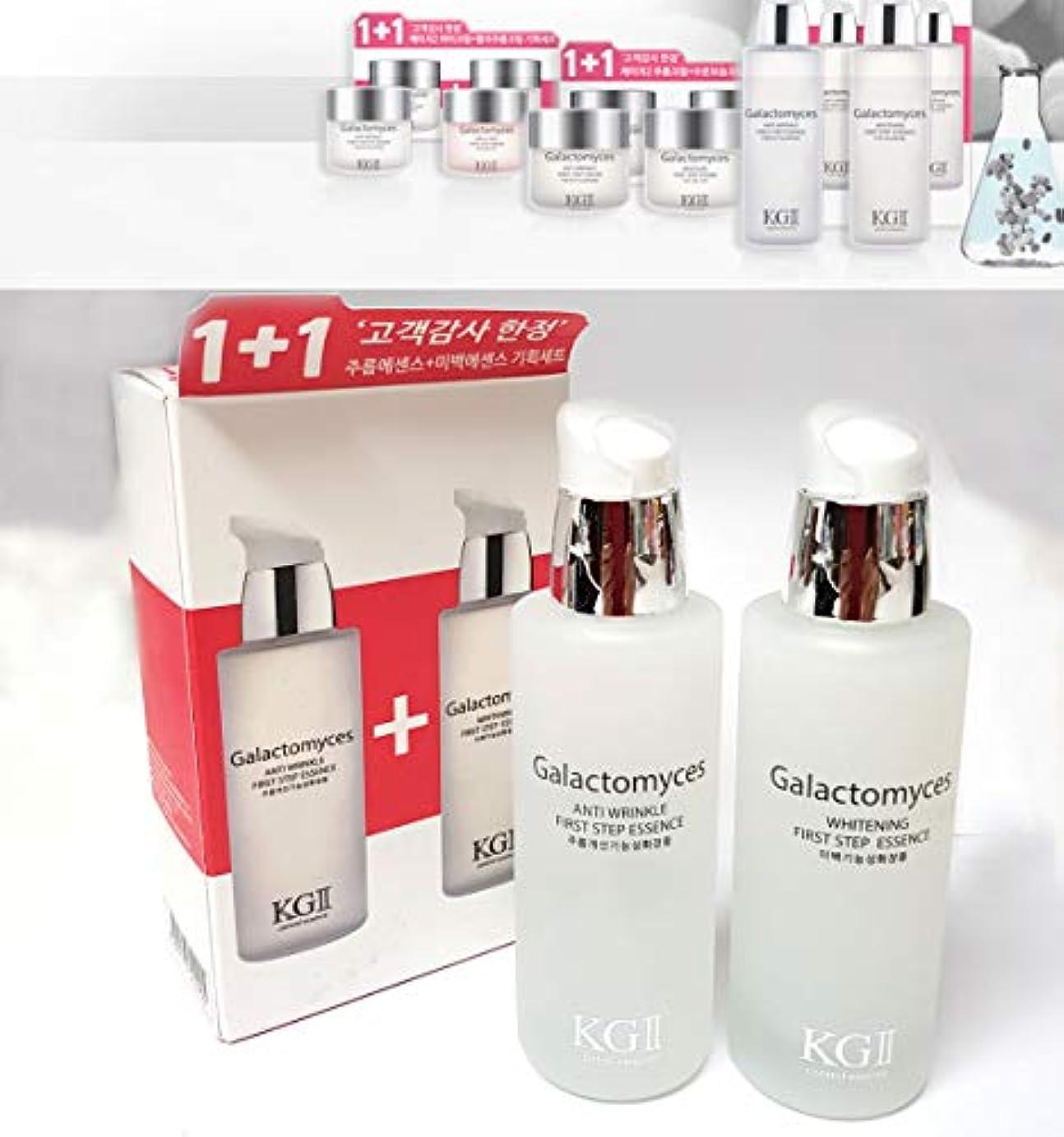 [KG2] ガラクトミセスファーストステップリンクルエッセンス+ホワイトニングエッセンスセット(50ml + 50ml) / Galactomyces First Step Wrinkle Essence + Whitening...