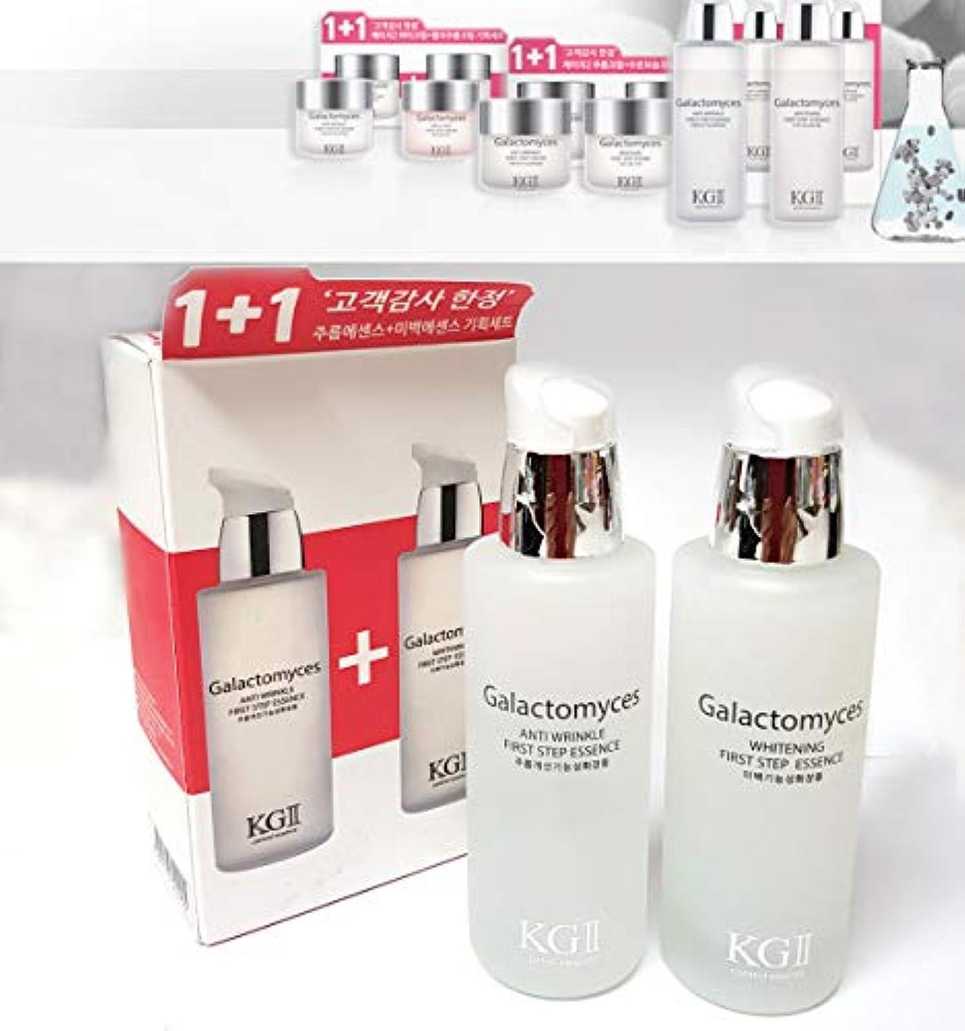社交的死ぬスリッパ[KG2] ガラクトミセスファーストステップリンクルエッセンス+ホワイトニングエッセンスセット(50ml + 50ml) / Galactomyces First Step Wrinkle Essence + Whitening Essence Set (50ml + 50ml) / 韓国化粧品/Korean Cosmetics [並行輸入品]