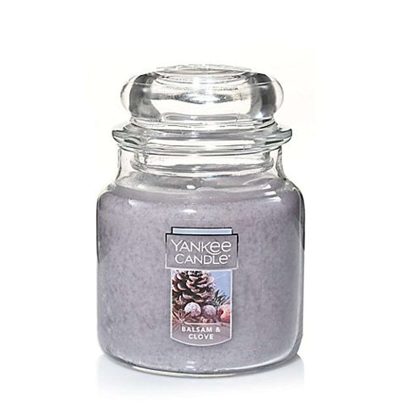 大きなスケールで見ると状態助言Yankee Candle Balsam &クローブSmall Jar Candle