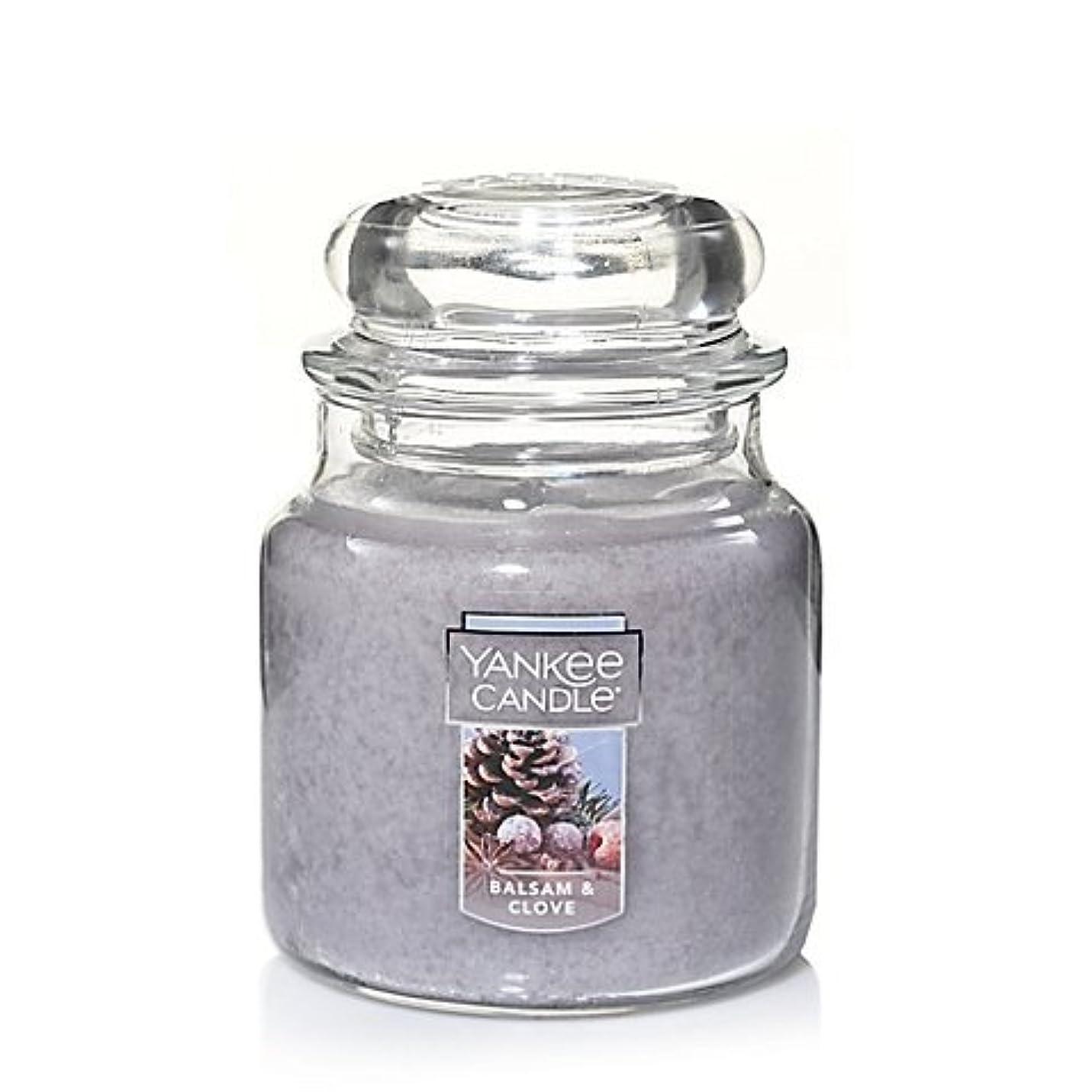 ぶどう掘る即席Yankee Candle Balsam &クローブSmall Jar Candle