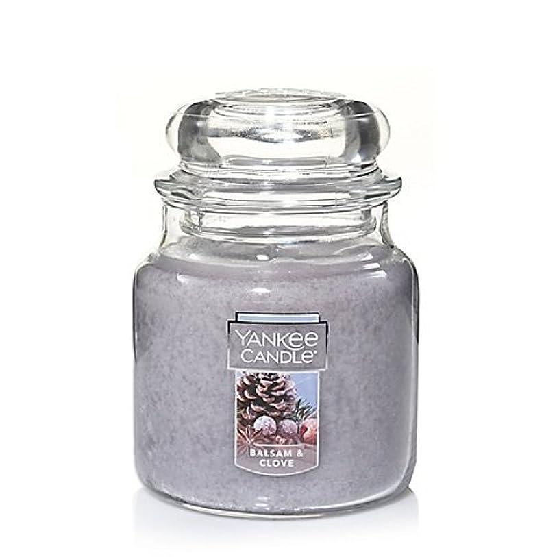 たっぷり構成するライブYankee Candle Balsam &クローブSmall Jar Candle