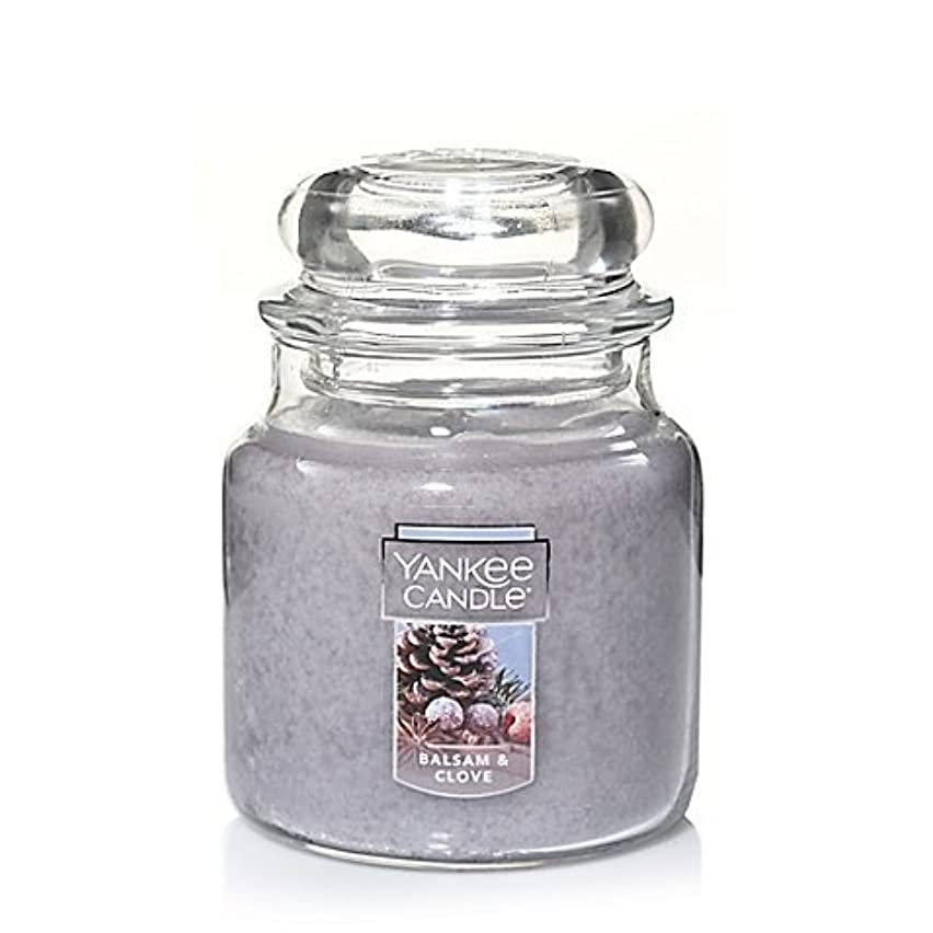 気を散らす下る図書館Yankee Candle Balsam &クローブSmall Jar Candle