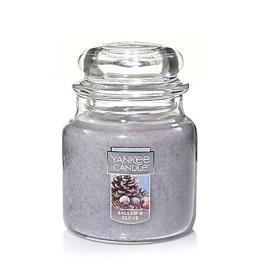 反対例示する表示Yankee Candle Balsam &クローブSmall Jar Candle