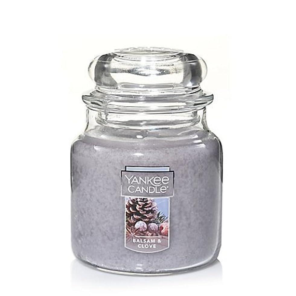 ライド振りかける利得Yankee Candle Balsam &クローブSmall Jar Candle