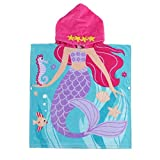 """JAMORGANIC Hooded Towels for Girls 