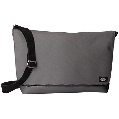 (ジャック・スペード) Jack Spade メッセンジャーバッグ メンズ Jack Spade Zappos Couture Exclusive Roadway Messenger Grey