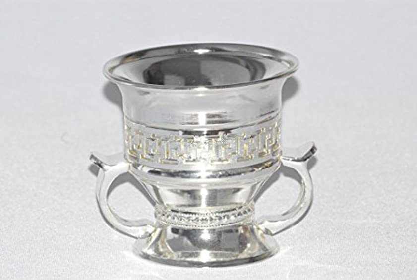 Arabia Incense / bakhoor Burner ( Mabkhara ) – Oud Burner、シルバーメタル、トレイInside – USA Seller