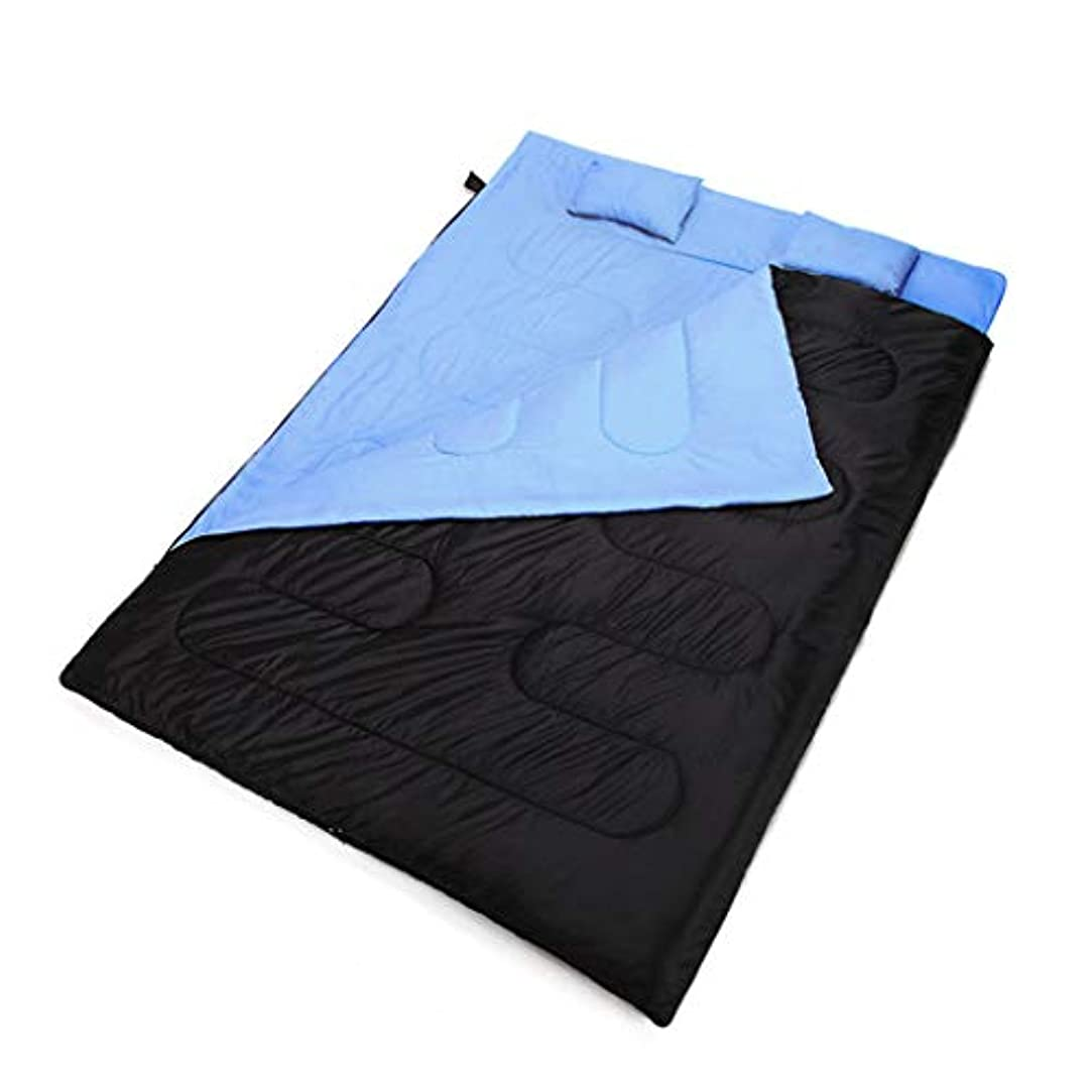 アルカイック救急車眩惑するWangjie 寝袋 圧縮袋 キャンプ用寝袋 アウトドア 旅行 キャンプ 厚手 アウトドア キャンプ 二重寝袋