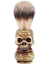 シェービングブラシ メンズ グルーミングツール メイクアップ サロン ビアードシェービングブラシ ひげ 洗顔 髭剃り 男性 ギフト理容