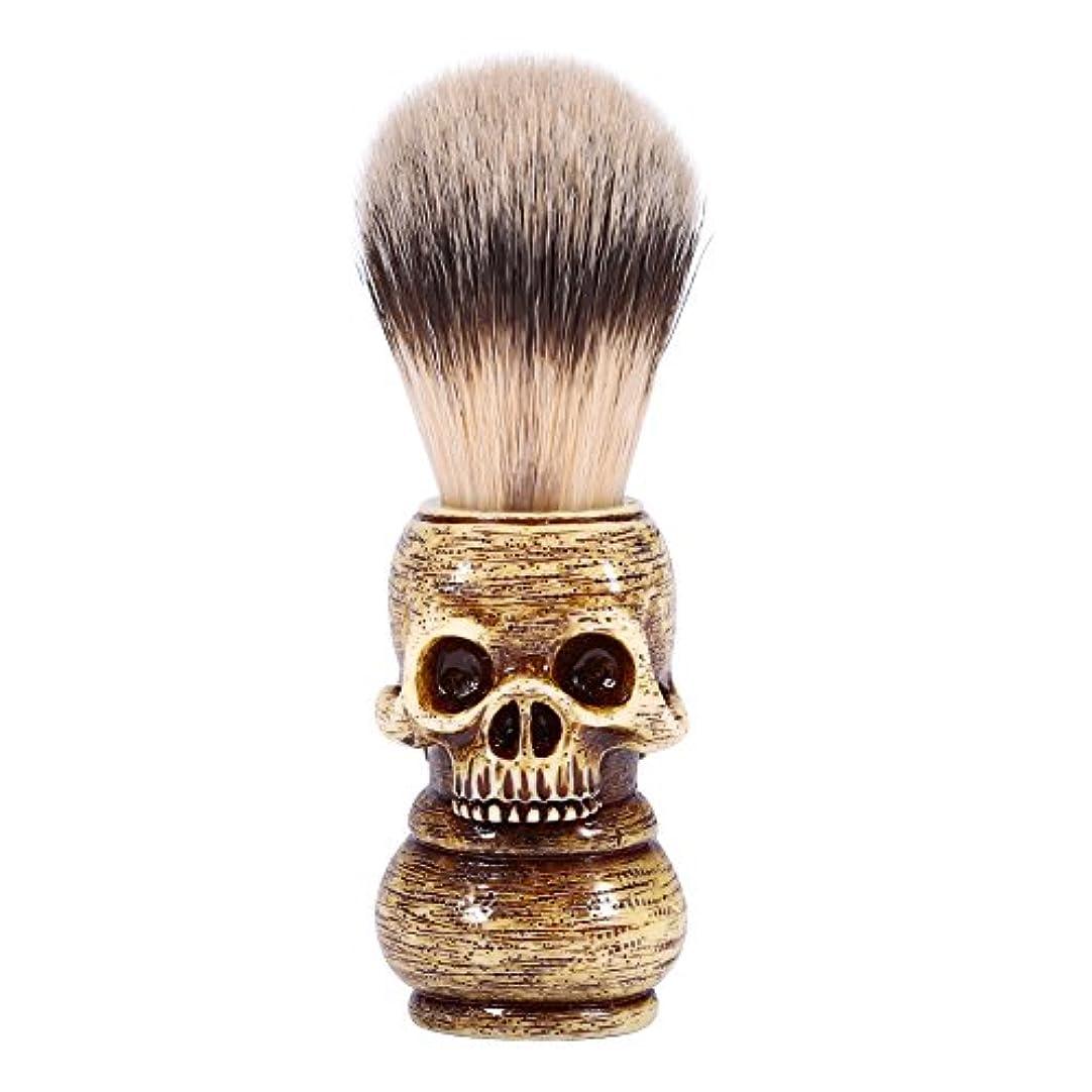 未満六贅沢シェービングブラシ メンズ グルーミングツール メイクアップ サロン ビアードシェービングブラシ ひげ 洗顔 髭剃り 男性 ギフト理容