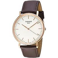 Tissot Men's T1096103603100 Year-Round Analog Quartz Brown Watch