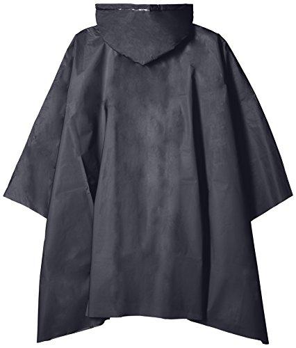 防水 レインコート ポンチョ レディース メンズ の 150~180cm対応( 携帯 ポーチ 付き) ネイビー 1276