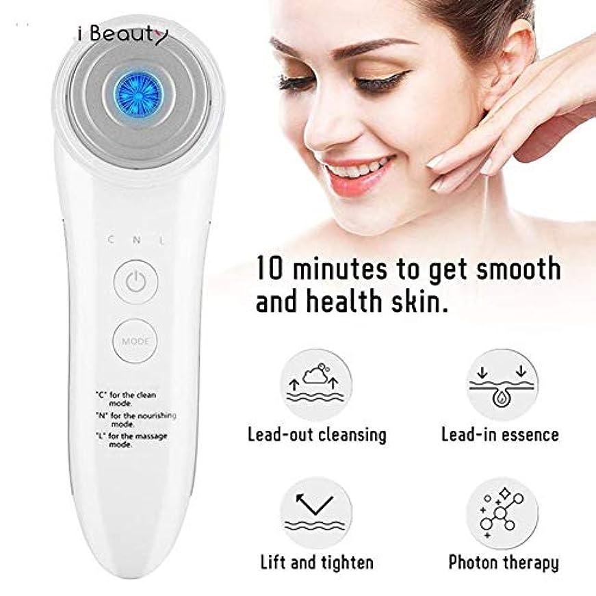 母人口殺しますLEDの顔のマッサージャーRFの無線周波数の美機械携帯用電気再充電可能なスキンケア用具LFMXLD